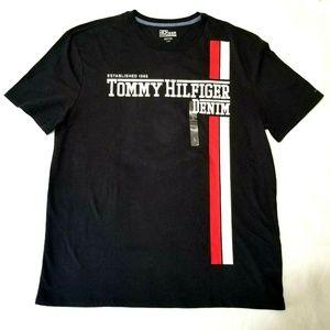 Tommy Hilfiger Mens T shirt Crew Neck Short Sleeve